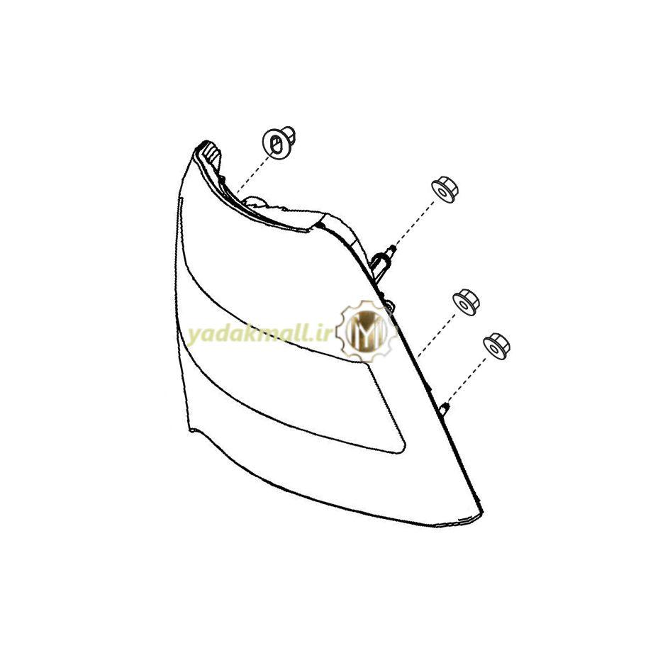 چراغ خطر ساینا 1